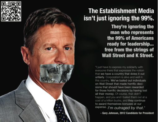 Gary Johnson muffled